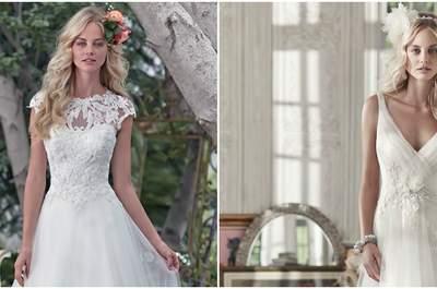 Maggie Sottero весна 2016: триумфальные свадебные платья