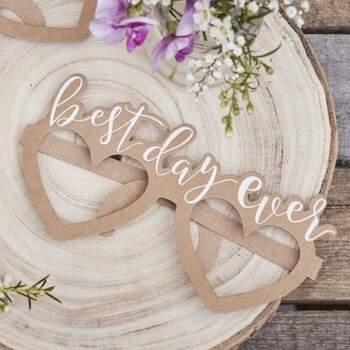 Lunettes Best Day Ever 8 pièces - The Wedding Shop !