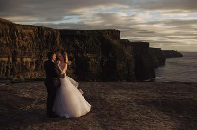 Malownicza, irlandzka sesja ślubna, która Was zainspiruje. Zobacz!