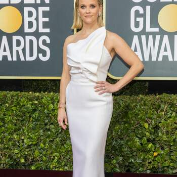 Reese Witherspoon veste Roland Mouret. Crédits: Cordon Press
