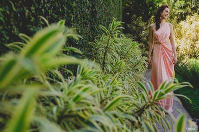 Editorial ULTRA inspirador com looks de festa na espetacular Casa das Canoas!