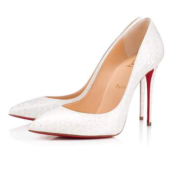Pigalle Follies Patent Coquillage. Credits: Christian Louboutin