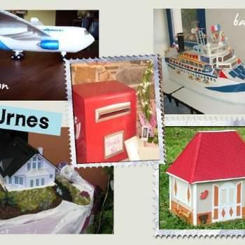 Urnes - Crédit photo: Décorations de Mariage