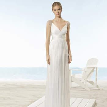 Vestidos de novia corte imperio: un look de lo más romántico