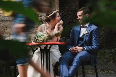 Marine + Gautier : un mariage breton, à la maison !