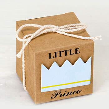 Caja De Cartón Little Prince 25 unidades- Compra en The Wedding Shop
