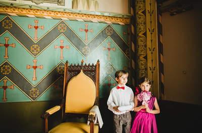 Los niños en el matrimonio: ideas para que participen en tu gran día