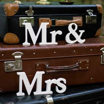 Lettres Mr Et Mrs - The Wedding Shop !