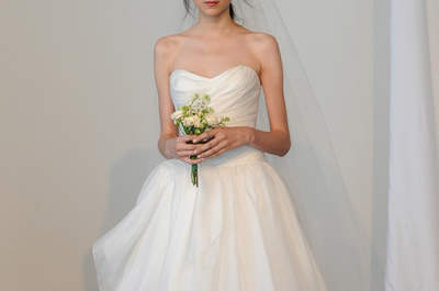 Marchesa Bridal Collection Spring/Summer 2015 at the New York Bridal Week
