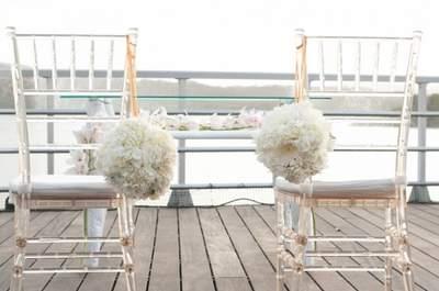 Как выбрать стулья на свадьбу? 9 фантастических стилей в нашей подборке!