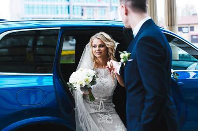 Wyjątkowy reportaż ślubny Natalii i Łukasza z kieleckiej Katedry i Gran Hotelu. Nie przegap!