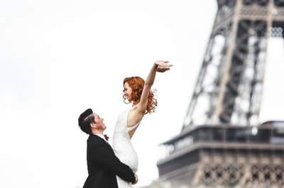 Les 10 meilleurs photographes de mariage de Paris pour vos séances d'engagement  !