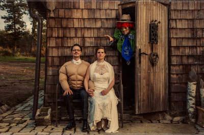 Ideas novedosas para las fotografías de tu boda