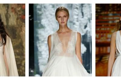 Brautkleider im Empire-Stil 2017: So sieht ein wundervoller Auftritt der Braut aus!