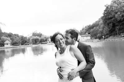 16 ans après leur premier baiser, elle a dit OUI! Le joli mariage de Valéria et Laurent!