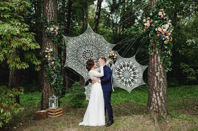 Нити судьбы: необычная летняя свадьба Сергея и Олеси