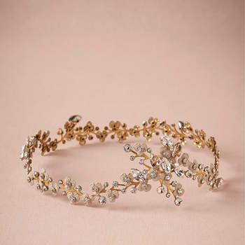 Das It-Piece für die Brautfrisur – Angesagte Blumenkränze als geniales Accessoire!