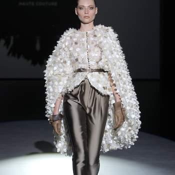 Isabel Zapardiez   Credits: Valmont Barcelona Bridal Fashion Week