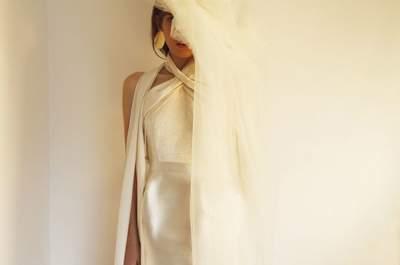 Vestidos de novia cortos: los diseños más TOP. ¡Atrévete a llevarlos!