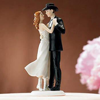Figura Tarta Nupcial Abrazo Country- Compra en The Wedding Shop