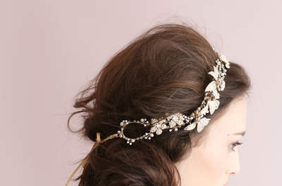 Brides! Have a Look at What You Can Do If You Have Long Hair!