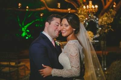 Casamento rústico chique em Brasília: cerimônia de Ravik e Paoula teve dose extra de romantismo