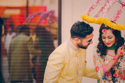 Amazing Real Wedding of Shivali and Karanveer: The one that was just too cool
