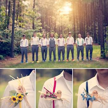 Um casamento de sonho inspirado nas cores do arco-íris. Um exemplo de que é possível criar o dia perfeito apenas com as próprias mãos, imaginação e bom gosto.