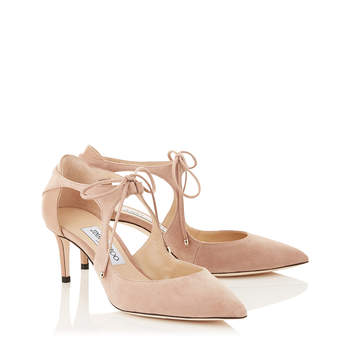 Chaussures de mariée nude VANESSA 65, Jimmy Choo