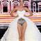 Conjunto de lencería con vestido de novia de escote corazón. Foto: IFEMA