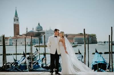 Sesja ślubna w słonecznej Wenecji. Ich marzenie się spełniło: oto Malwina i Richard! Wyszło idealnie!