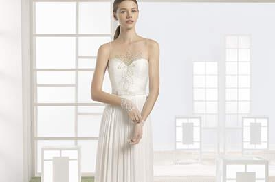 Wählen Sie ein Brautkleid mit geradem Schnitt für 2017 und überraschen Sie Ihre Gäste