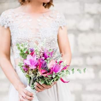Декор, флористика, букет невесты:  Евгения Драгун