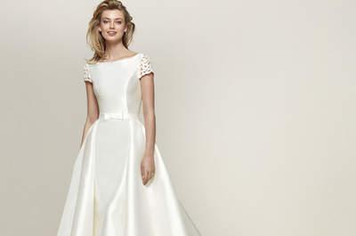 Vestidos de novia corte princesa: diseños extraordinarios que no querrás dejar escapar