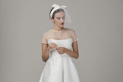 Vestidos de novia cortos: diseños que te enamorarán. ¡Elige el tuyo!