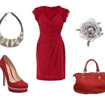 Robe Coast, chaussures & sac Dune, Accessoires Accessorize. Au top pour un mariage !