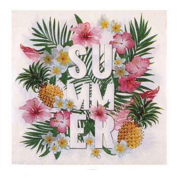 Servilletas Paraíso Tropical 20 unidades- Compra en The Wedding Shop