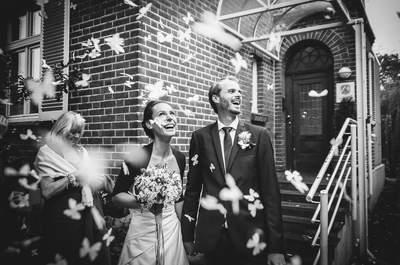 Grandiose Hochzeitsfotografen in Deutschland und ihr Traum in Schwarz-Weiß, Teil 2