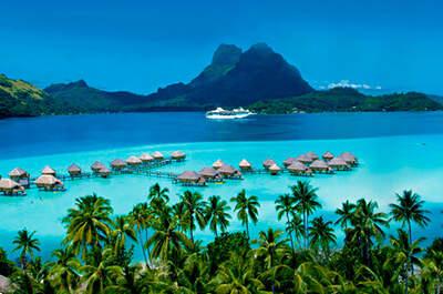 Lugares para tu luna de miel: vete de crucero a la Polinesia francesa