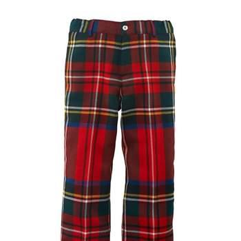 Pantalón escoces. Foto: Óscar de la Renta