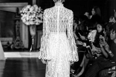 Desfile de la New York Bridal Week 2015: ¡tienes que ver cada detalle de estos vestidos de novia!