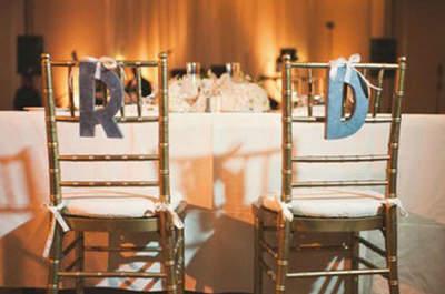 Decorare le sedie di di nozze: sbizzarritevi con queste idee diy ed economiche
