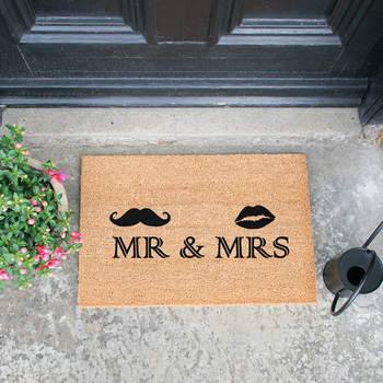Paillasson Mr & Mrs - Crédit photo: Amara.com