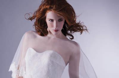 Dibujos hilados  en tu vestido de novia: ¡apuesta por lo original!