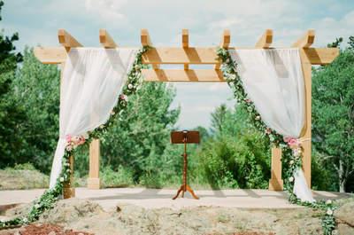 Decora tu ceremonia de boda con estas 7 fantásticas ideas