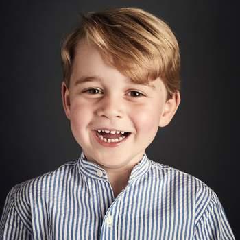 George de Cambridge -  Foto via conta oficial de Instagram do Kensington Palace (@kensingtonroyal)