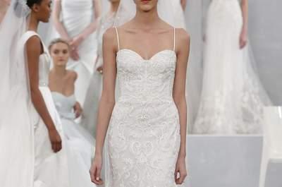 Vestidos de novia de Monique Lhullier 2015: un cuento de hadas