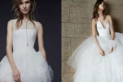 10 dos mais lindos vestidos de noiva de Vera Wang: o sonho de toda princesa