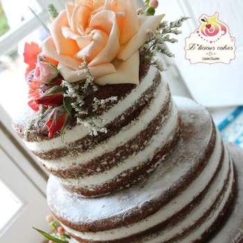 """Créditos: <a href=""""http://zankyou.9nl.de/huhh"""" target=""""_blank"""">D´licious Cakes</a>"""