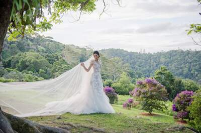 Wedding dress by MXM Couture | Photo: Studio Impressions
